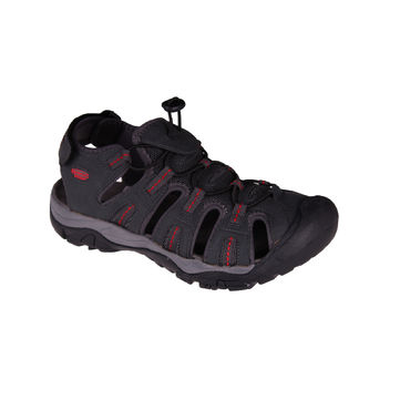 ORDOS CHARCOAL/RED