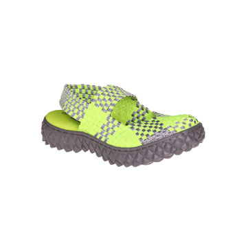OVER SANDAL NEON GREEN