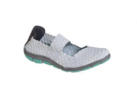 CAPE TOWN WHITE 0006 grey/green sole