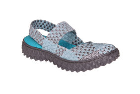 OVER SANDAL MET BLUE/RS
